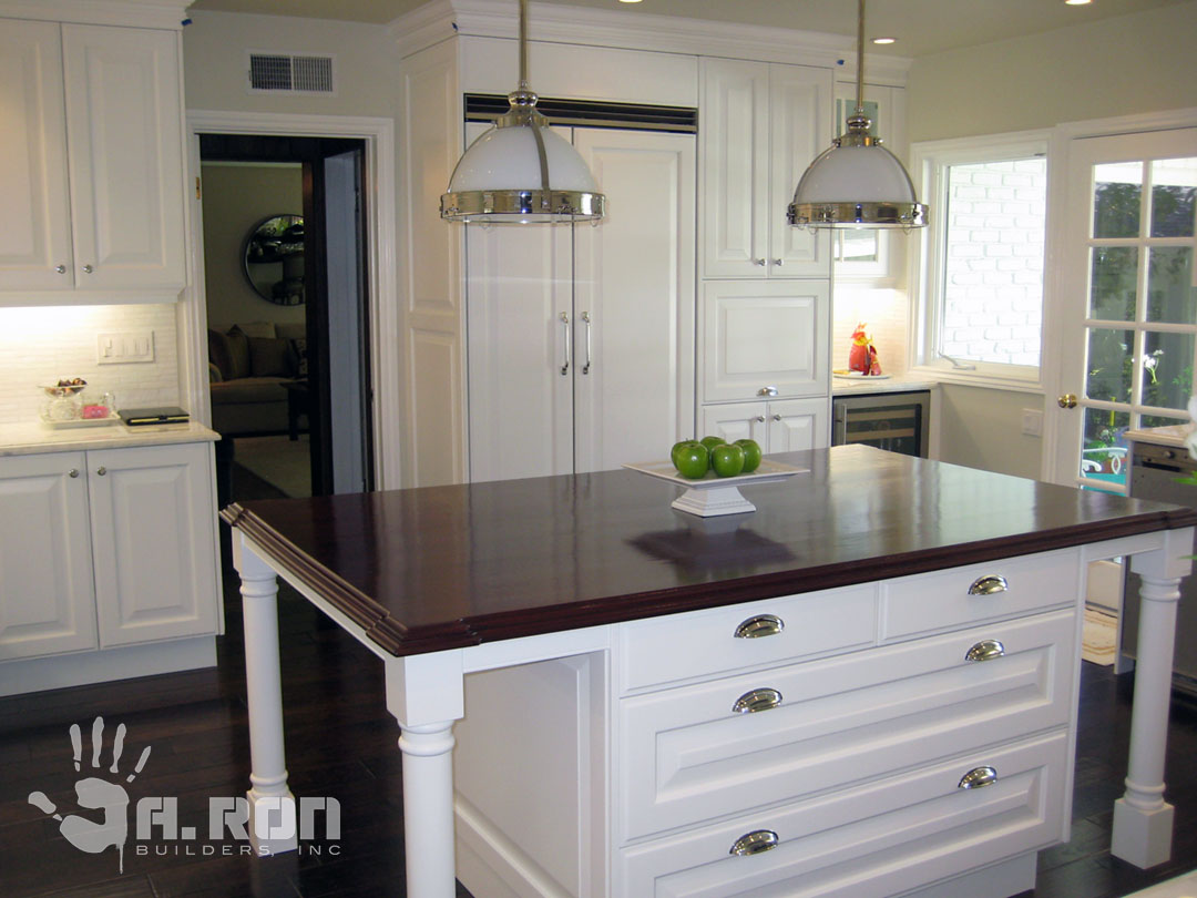 kitchen remodel – encino | new construction | remodeling | a ron